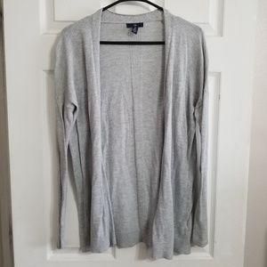 Gap light grey cardigan